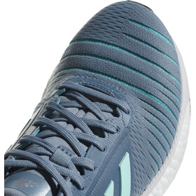adidas SolarGlide Running Shoes Women Raw Grey/Clear Mint/Hi-Res Aqua